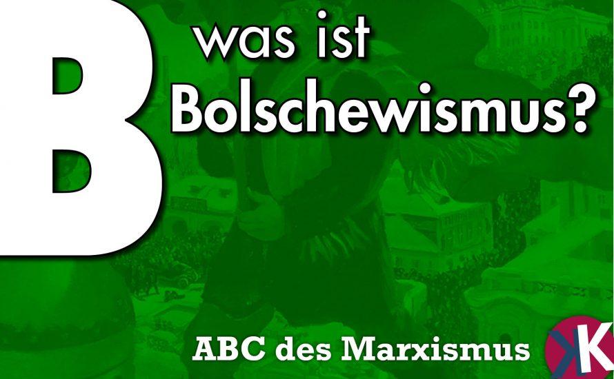Was ist Bolschewismus?