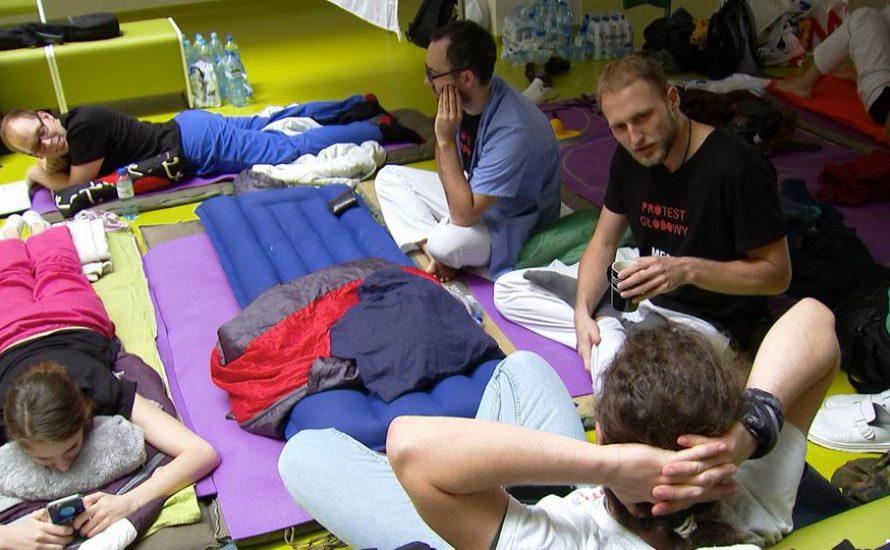 Ärzt*innen in Polen in den Hungerstreik getreten
