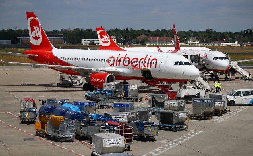 Drohende Massenentlassung bei Air Berlin