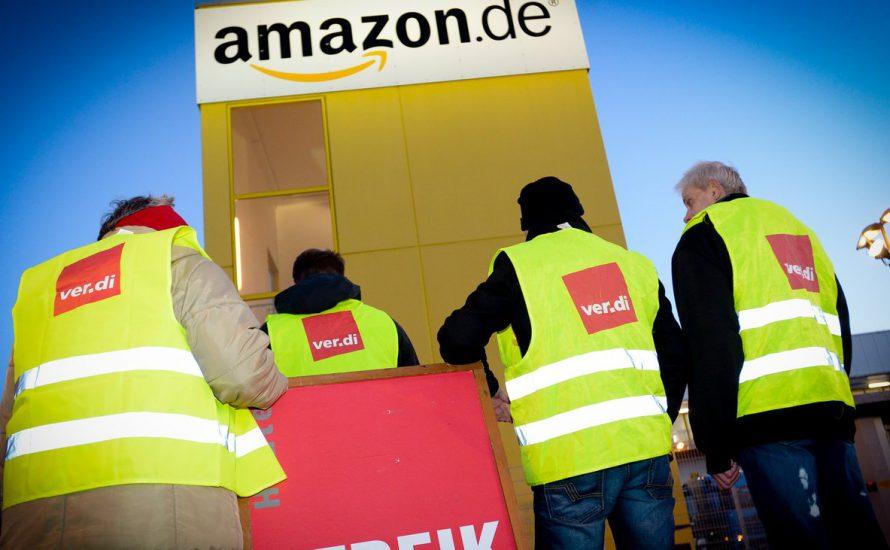 Beschäftigte von Amazon streiken auch zum Ostergeschäft