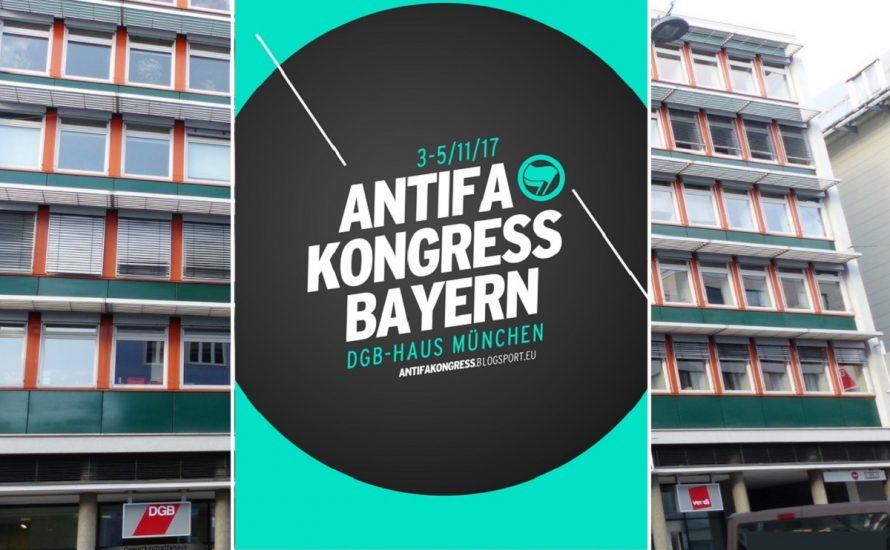 Gewerkschaftshaus München: Antifa rein, Polizei raus!
