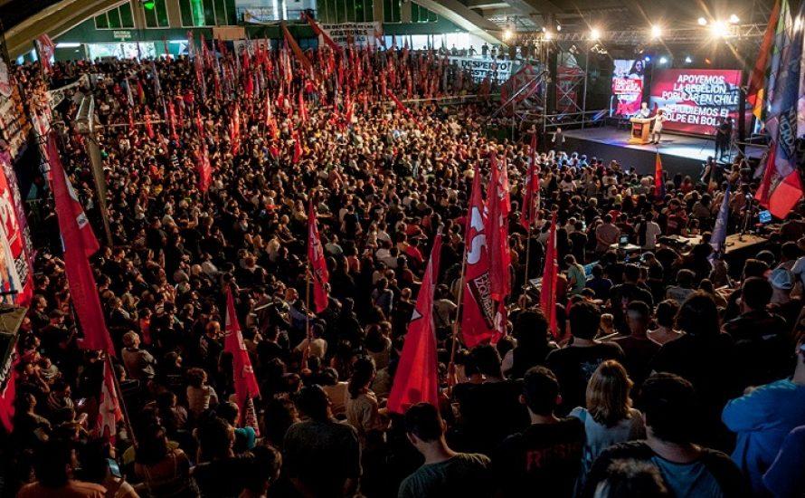 Argentinien: Massive Kundgebung zur Unterstützung der Rebellion in Chile und gegen den Putsch in Bolivien