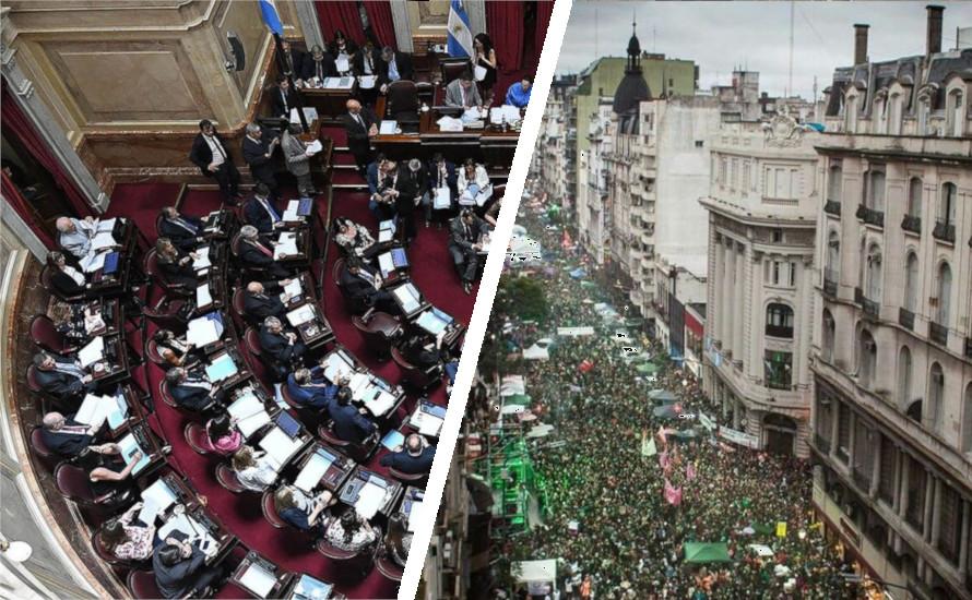 Argentinien: Der reaktionäre Senat stimmt gegen das Recht auf Abtreibung – Millionen Menschen protestieren
