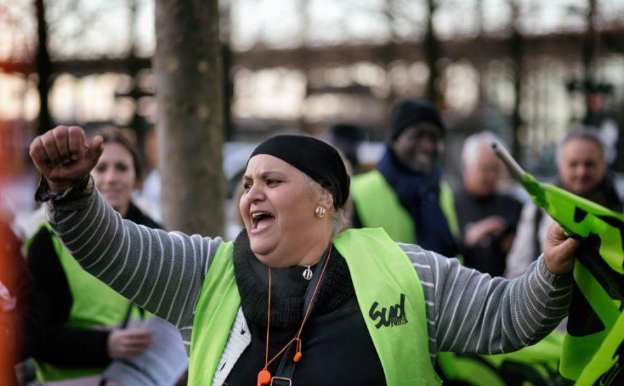 Paris: Sieg der Bahnhofs-Reiniger*innen nach 45 Tagen Streik