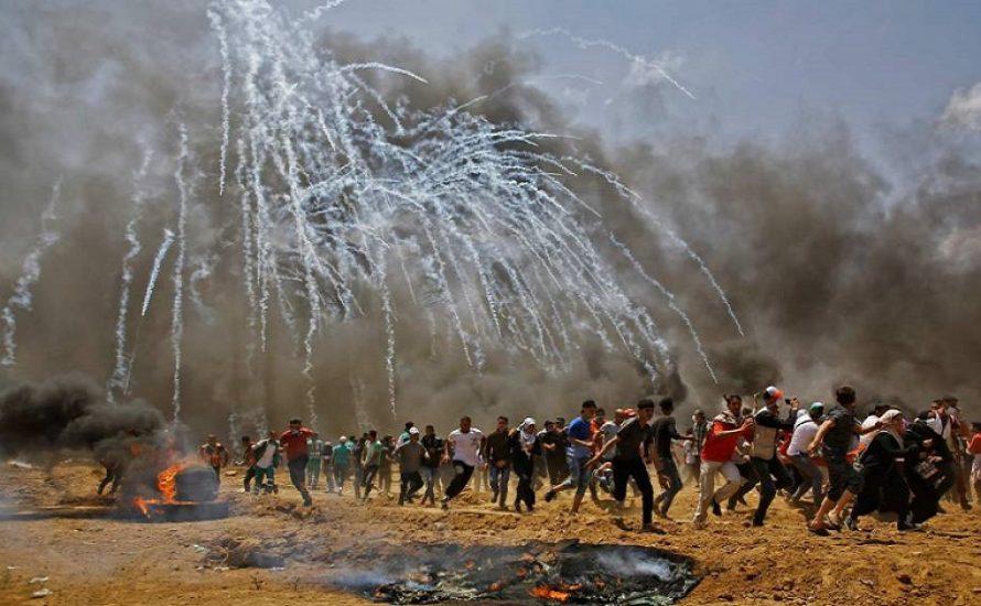 Blutige Repression durch Israel: Mindestens 52 Palästinenser*innen bei Protesten gegen Umzug der US-Botschaft getötet