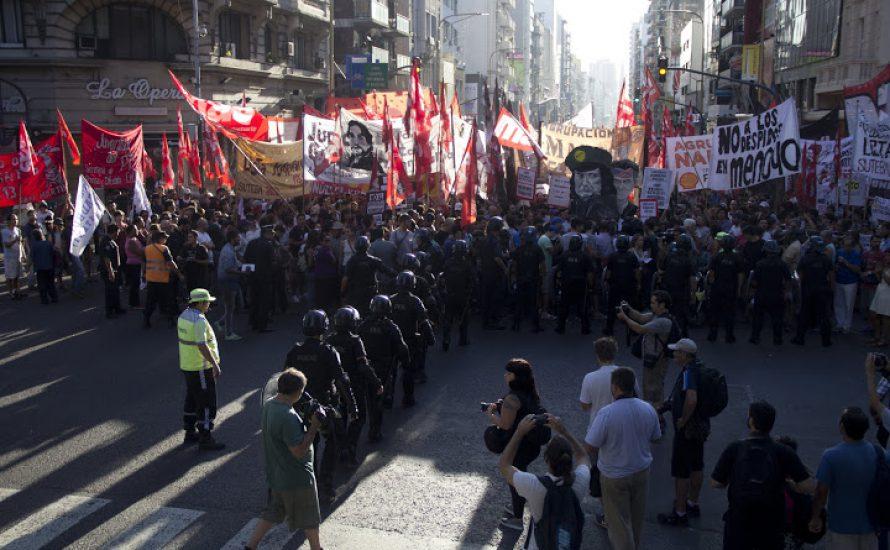 Internationale Kampagne gegen Argentiniens neues Anti-Protest-Gesetz