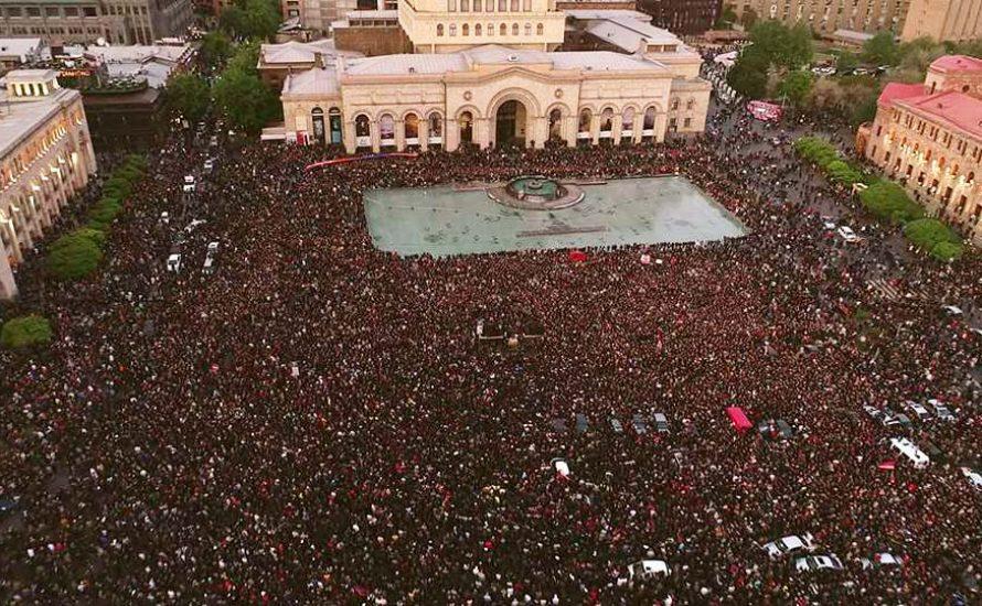 """Armenien: """"Eine Massenbewegung, die das Land noch nie zuvor gesehen hat"""""""