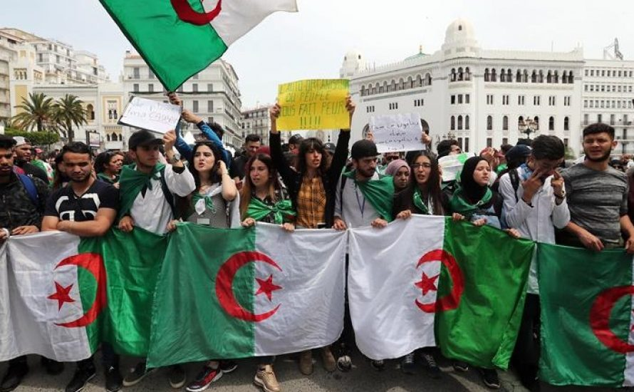 Studierende in Algerien im Streik:
