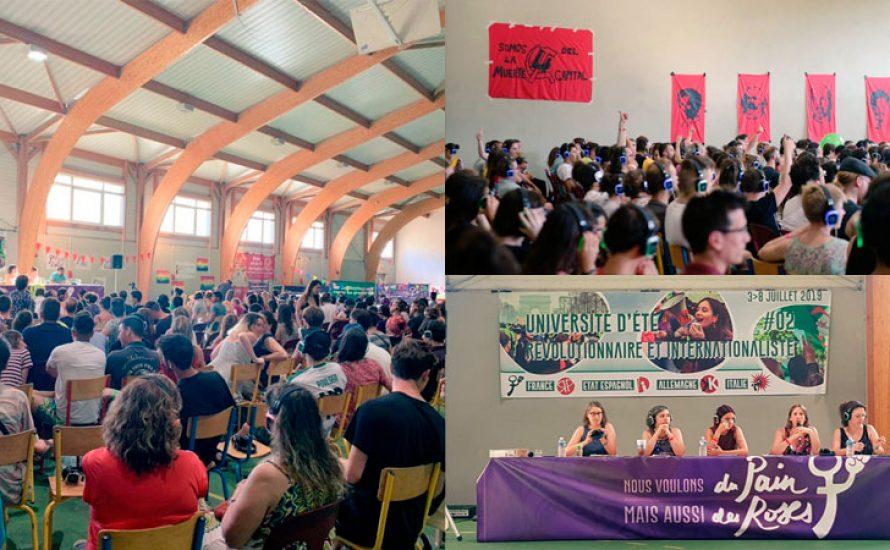 Erfolgreiche internationalistische und revolutionäre Sommerakademie in Südfrankreich