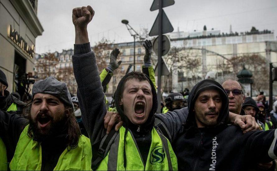 Frankreich: Die Gelbwesten kehren zum Jahrestag des Sturms auf die Bastille auf die Straßen zurück