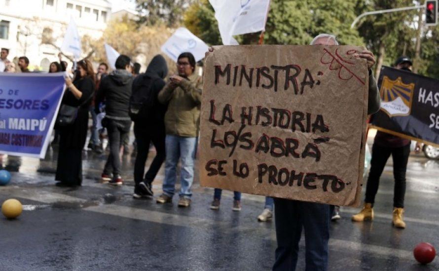 Chile: Eine Bilanz von 7 Wochen Vollstreik der Lehrer*innen