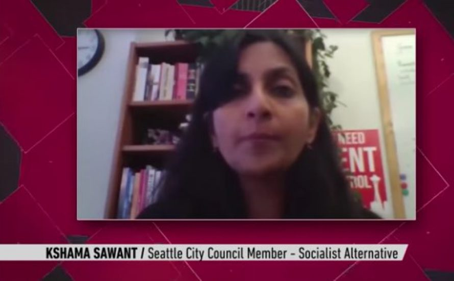 Stimmen der US-Linken: Sawant, Sunkara, Wallace, Woods [Videos]
