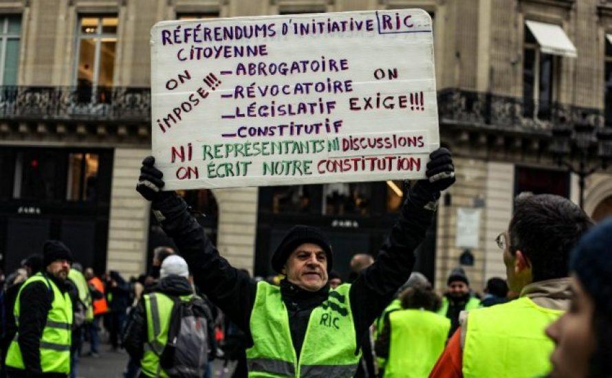 Ein-Kammer-Parlament statt Volksabstimmung  – ein Vorschlag für die französischen Gelbwesten