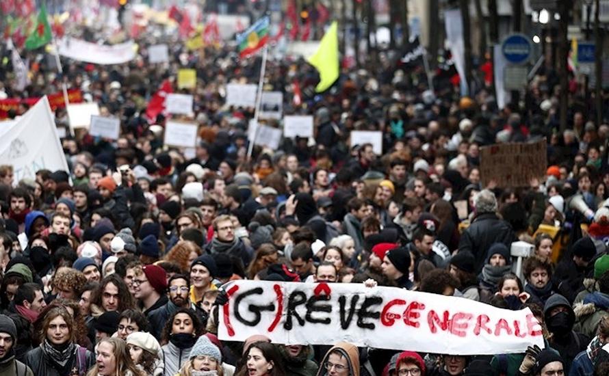 Generalstreik in Frankreich: Große Demonstration der Stärke der Arbeiter*innenbewegung
