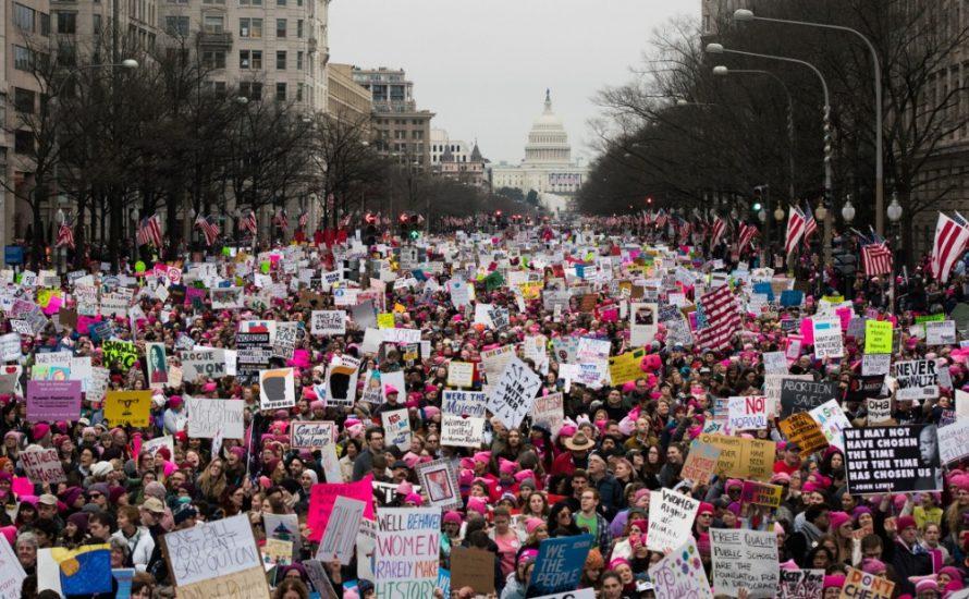 Womens March: Mehr als zwei Millionen demonstrieren in den USA gegen Trump [mit Videos]