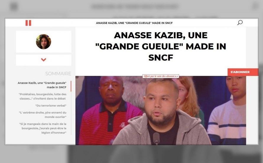 """Interview mit Anasse Kazib: """"Sie haben Angst, dass ich auch dem letzten Arbeiter erkläre, dass wir alle in der gleichen kapitalistischen Hölle sind"""""""