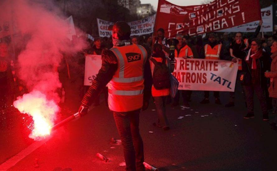 Frankreich: Streikende besetzen den Sitz des Gewerkschaftsbundes CFDT: