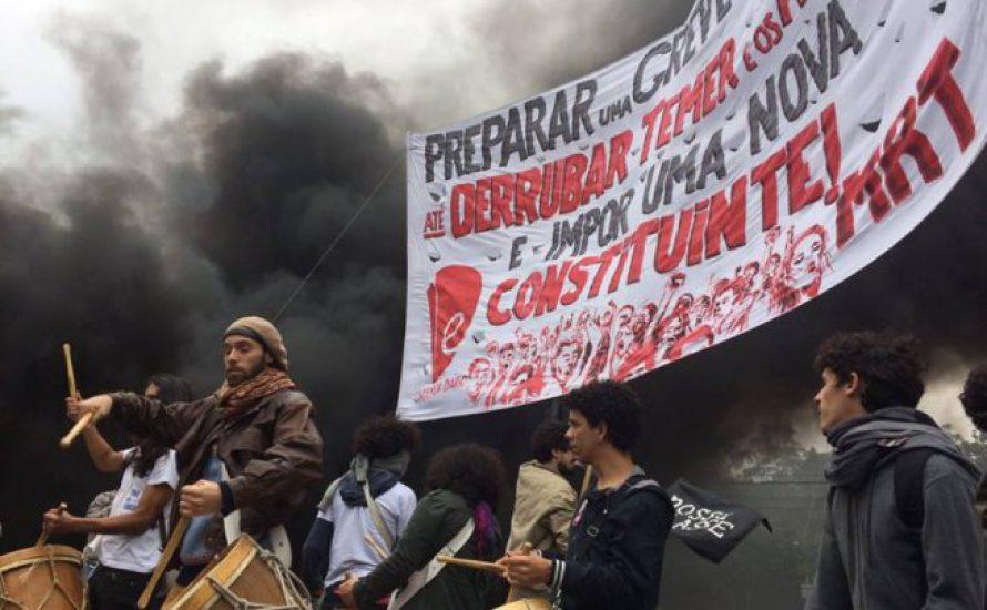 Brasilien erlebt den wichtigsten Generalstreik in Jahrzehnten [mit Fotogalerie]