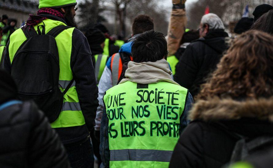 5. Februar: Steht Frankreich ein Generalstreik in gelben Westen bevor?