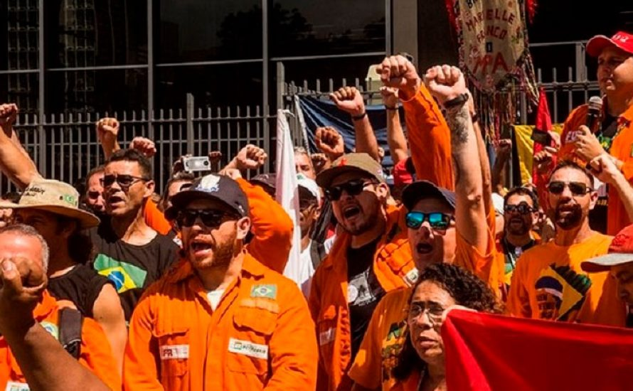Brasilien ohne Streikrecht: Richter erklärt Streik der Ölarbeiter*innen für illegal