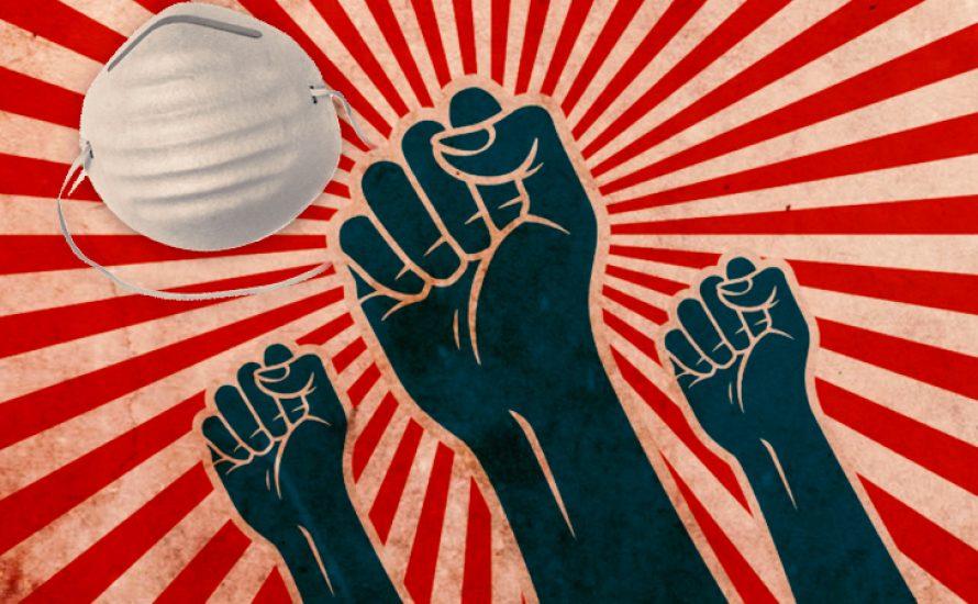 Gegen die Corona-Krise: Für eine sofortige Umstellung der Produktion zur Sicherung unserer Gesundheit!