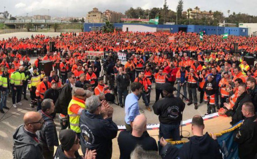Spanischer Staat: Die Hafenarbeiter*innen setzen um, was Reformist*innen nur versprechen konnten