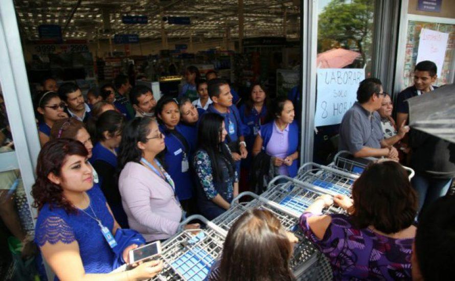 Walmart-Arbeiter*innen in Mexiko streiken