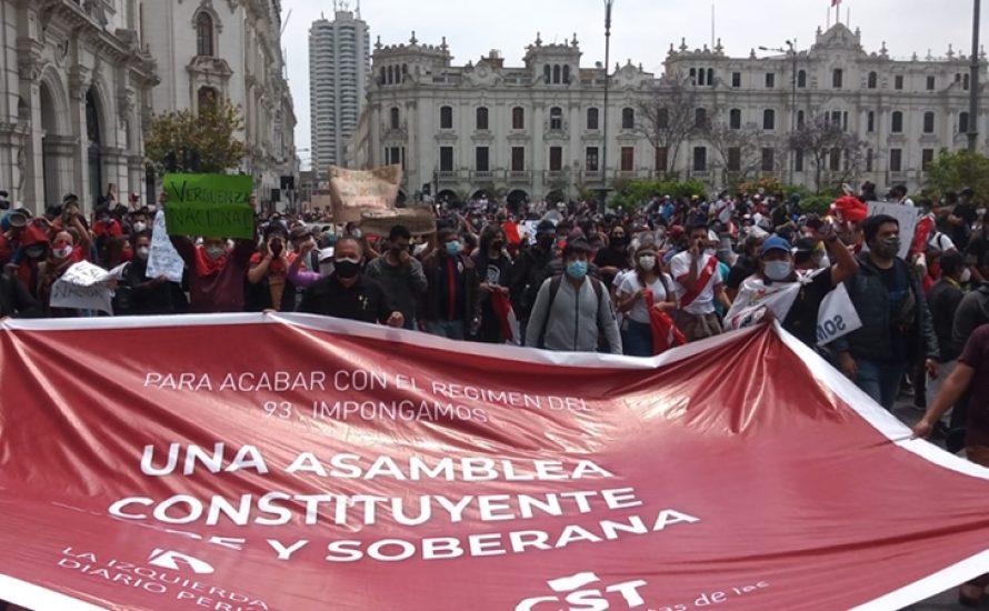 Massenproteste und politische Krise in Peru