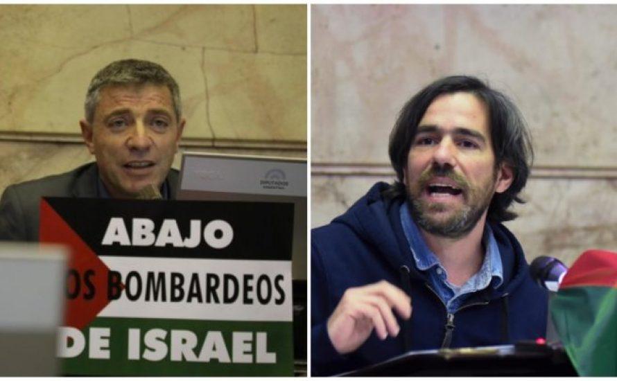 Trotzkistische Abgeordnete in Argentinien für Palästinasolidarität angegriffen