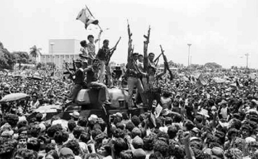 Nicaraguanische Revolution: die aufständigen Massen schrieben Geschichte