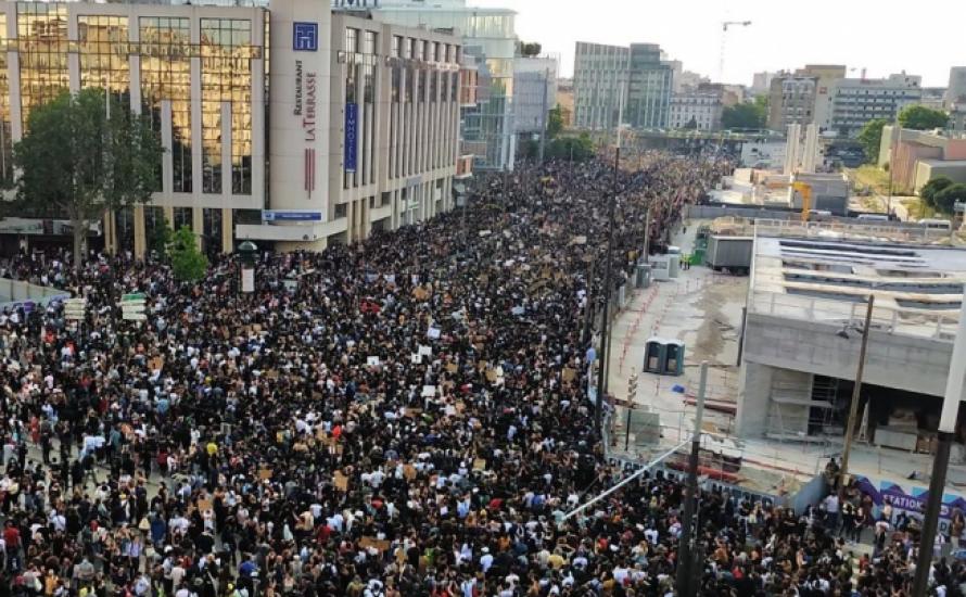 40.000 Demonstrant*innen in Paris gegen Polizeigewalt und staatlichen Rassismus