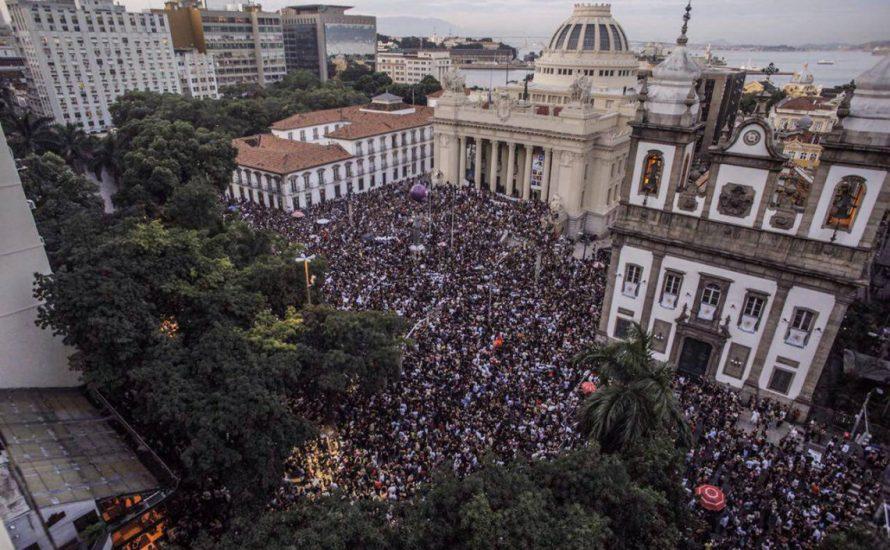50.000 demonstrieren in Rio de Janeiro nach der Ermordung von Marielle Franco