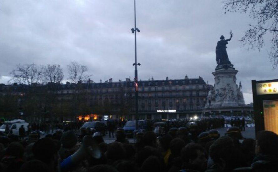 Sofortige Freilassung aller Demonstrant*innen gegen den COP21!