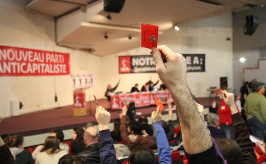 Frankreich: Der Rat der NPA beruft eine Schein-Konferenz ein, um die Opposition kalt zu stellen