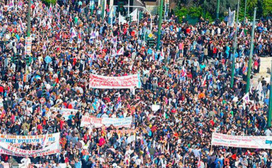 Generalstreik gegen Tsipras und Troika
