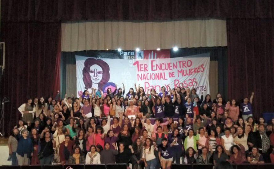 Erstes Nationales Treffen von Pan y Rosas in Mexiko