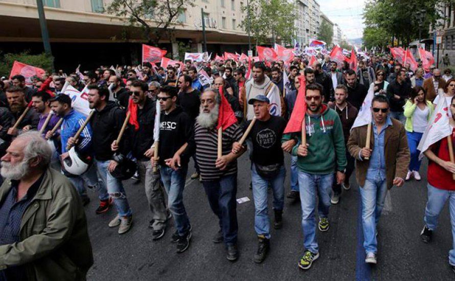 Zweitägiger Generalstreik in Griechenland gegen die