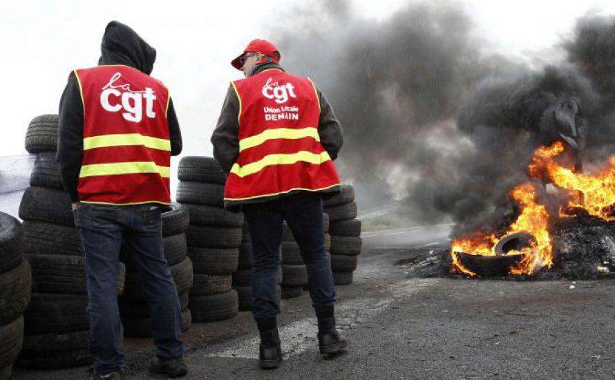 Ölarbeiter*innen legen Frankreich lahm