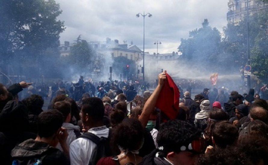 Eine Million Menschen in Paris - größte Mobilisierung der letzten Monate [mit Fotogalerie]