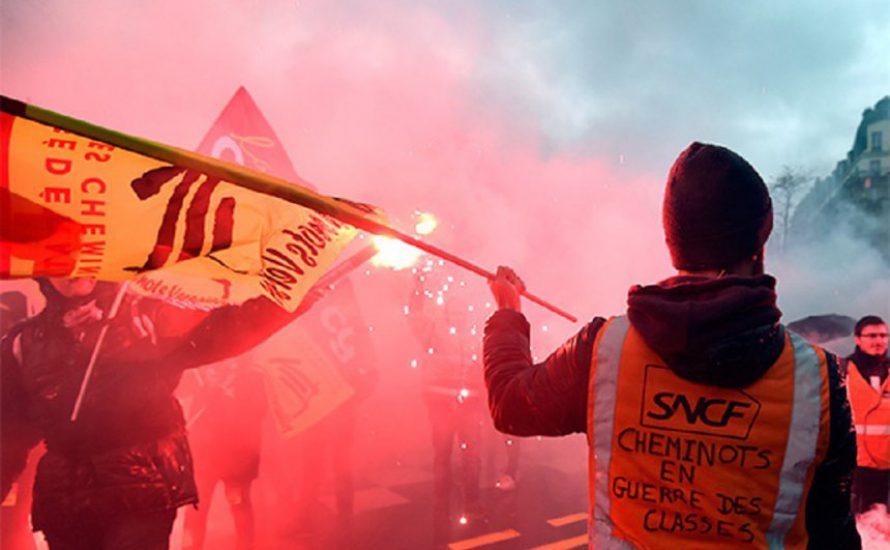 [VIDEOS] Bürgerliche Medien schweigen - Wir berichten: Klassenkampf in Frankreich
