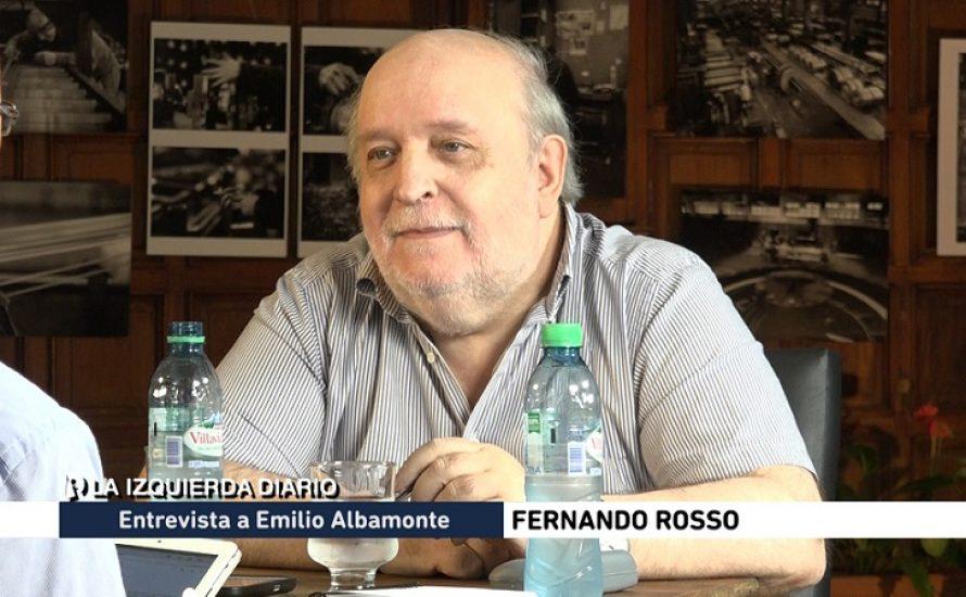 """""""Wir wollen eine Partei der Volkstribune aufbauen"""" - Emilio Albamonte"""