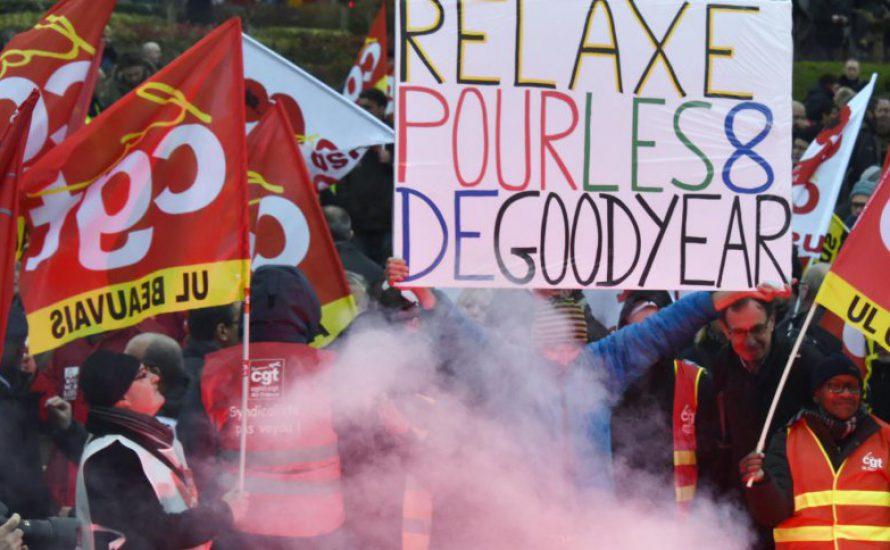 Skandalöses Urteil gegen Amiens-Arbeiter [mit Videos]