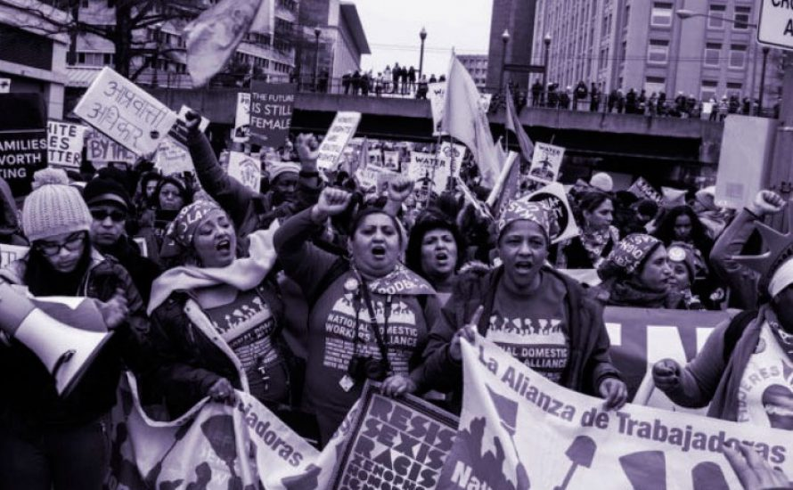 Bekannte linke Feministinnen aus den USA rufen zum Streik am 8. März auf