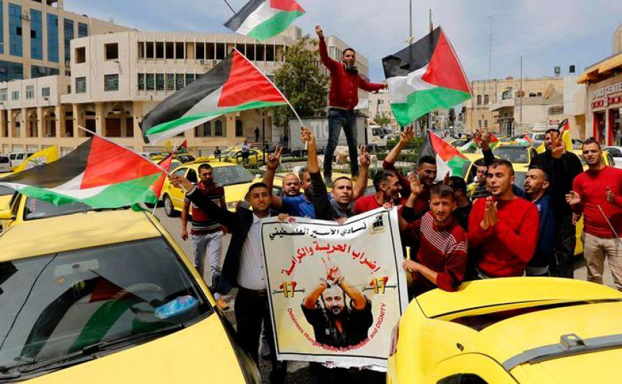 Aufruf zu Generalstreik in Unterstützung der palästinensischen Gefangenen in Israel