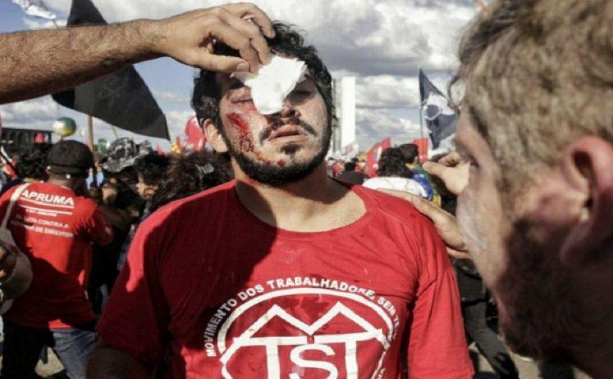 Brasilien: Militärrepression gegen Demonstrant*innen zum ersten Mal seit der Diktatur [mit Fotogalerie]