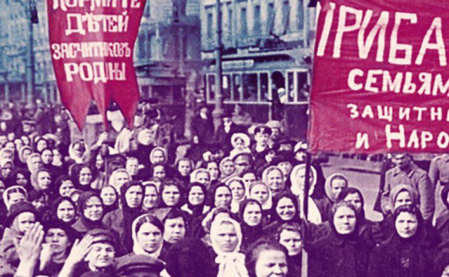 Die Frauen und die Revolution, die die Geschichte der Welt veränderte
