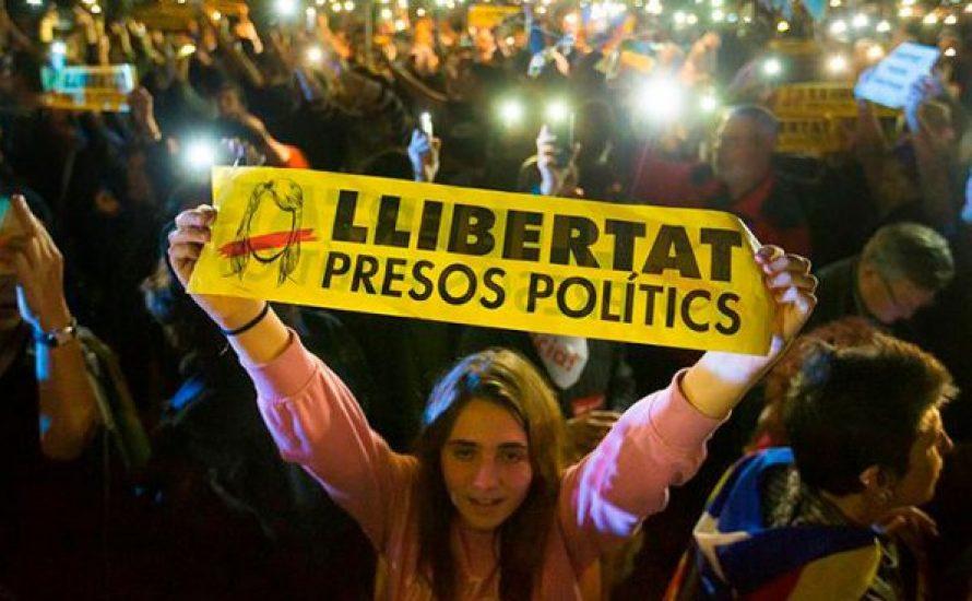 Die Repression gegen Katalonien verschärft sich: Freiheit für alle politischen Gefangenen! Sofortiger Generalstreik!