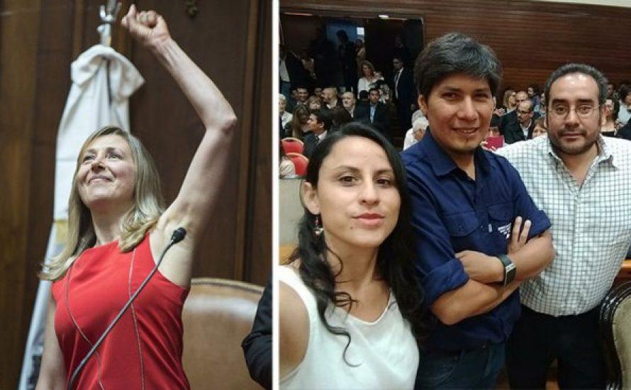 Nicht für das Vaterland, sondern die Unterdrückten: Revolutionäre Abgeordnete in Argentinien vereidigt [mit Video]