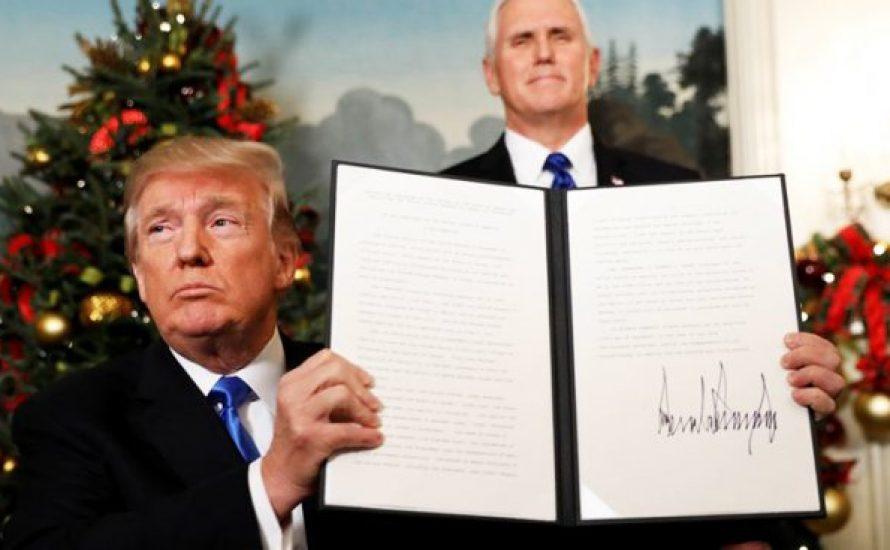 Jerusalem als israelische Hauptstadt: Ein Pyromane im Weißen Haus