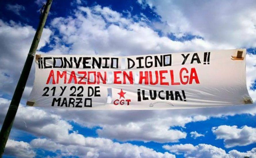 Amazon: Arbeiter*innen in Deutschland und Spanien streiken gleichzeitig gegen den reichsten Mann der Welt